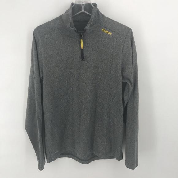 Reebok Other - Reebok grey play warm quarter-zip pullover